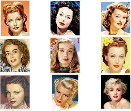 макияж 40-х годов фото