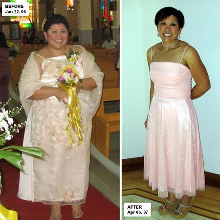 До и после похудения фото