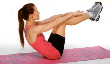 Упражнения для похудения в картинках