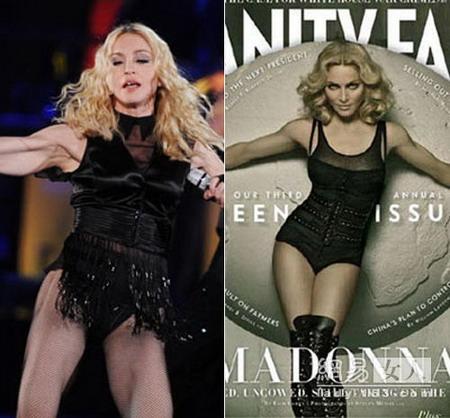 Мадонна без фотошопа фото