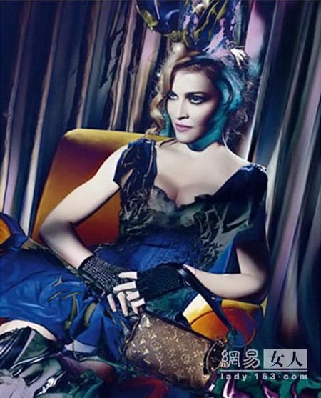 Мадонна с фотошопом