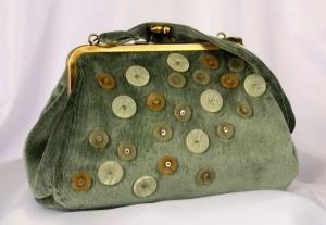пуговичная сумка