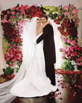 Свадьба Бритни Спирс и Кевина Федерляйна