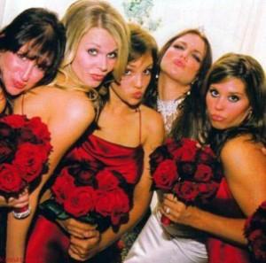 Свадьба Бритни Спирс подружки невесты