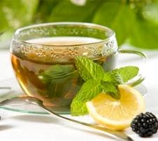 цитрусовый чай для ума