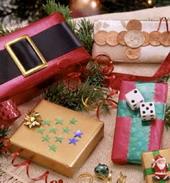 собственная упаковка новогодних подарков