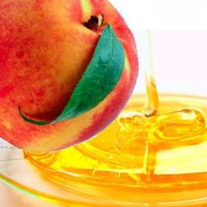 маска из персика для лица с медом