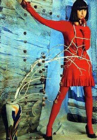 мирослава карпович в мини платье