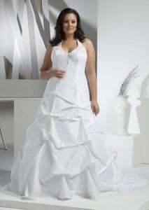 шикарное свадебное платье для полных