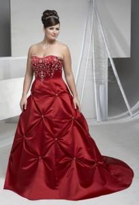 оригинальное свадебное платье для полненьких