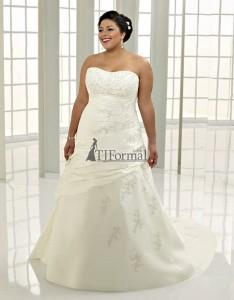 ампир свадебное платье