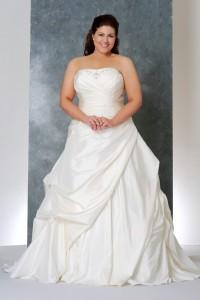 свадебное платье в стиле ампир для полненьких