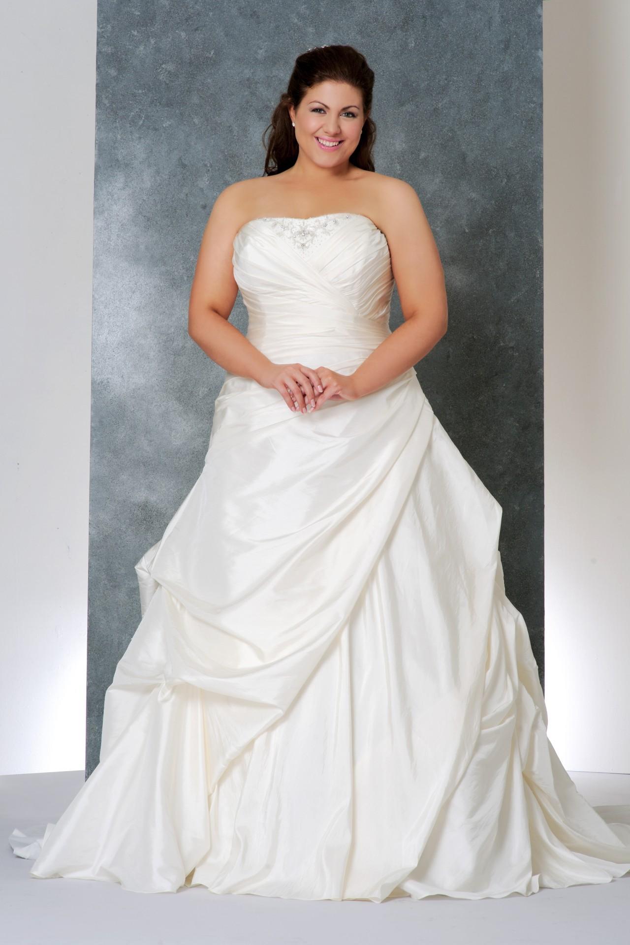 свадебное платье для полненьких