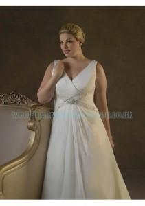 свадебное платье для полненьких 2012