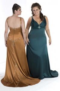 цветное свадебное платье для полненьких