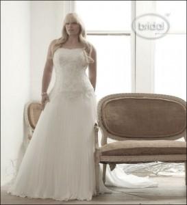 свадебные платья для полных 2012