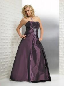 сиреневое свадебное платье для полненькой
