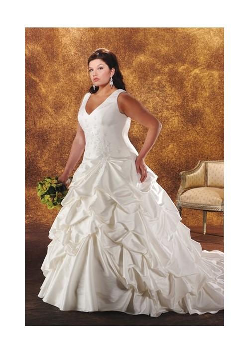 Свадебные платья для полненьких