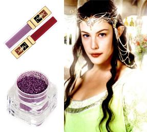 эльфийская  принцесса макияж на  хэллоуин