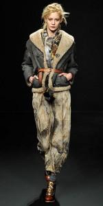 зима 2011 модные дубленки