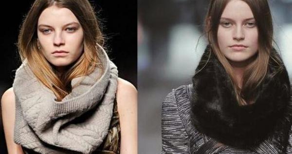 снуд тренд модный зимы 2011