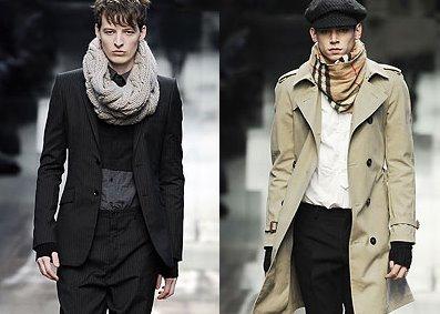 модный зимний тренд 2011 снуд
