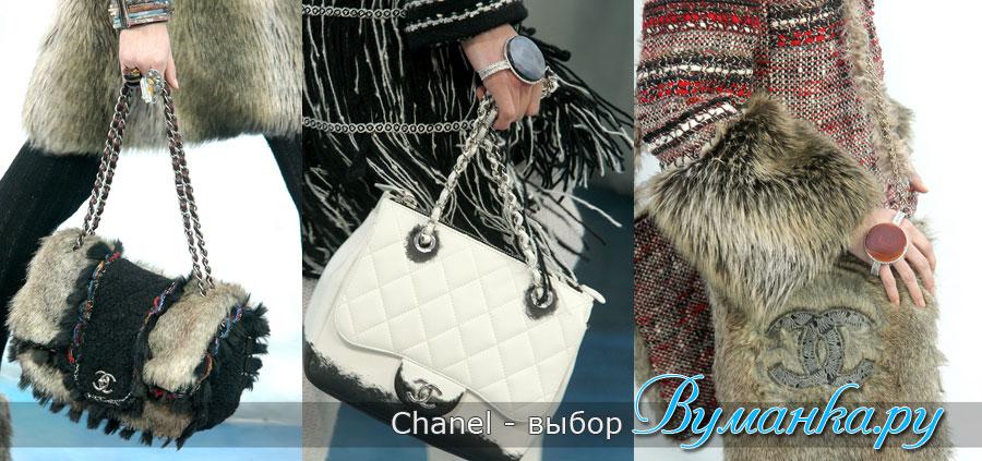 модные женские сумки осень/зима 2010-2011