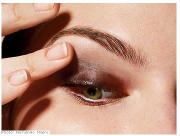 руководство дымчатый макияж