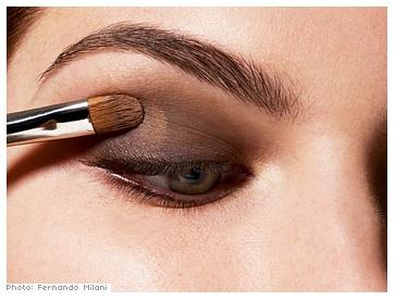 инструкция дымчатый макияж