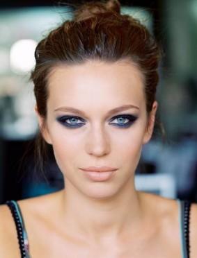 макияж для глаз дымчатый