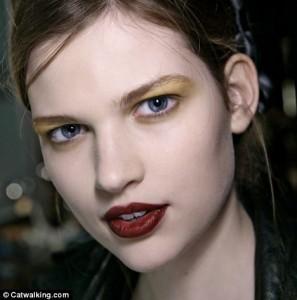 модный макияж 2012