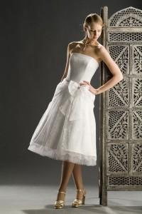 короткие свадебные платья 2011 фото