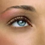 макияж голубые глаза