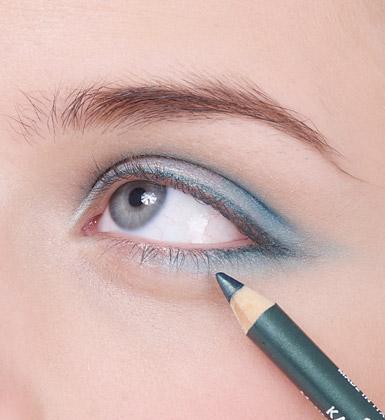 Дневной макияж для голубых глаз уроки