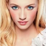 макияж для блондинок с голубыми глазами фото