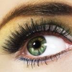 макияж зеленые глаза