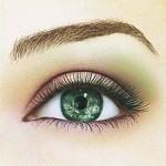дневной макияж для зеленоглазок