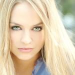 макияж для зеленоглазых блондинок фото