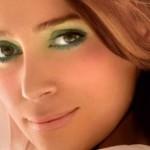 макияж для брюнеток с зелеными глазами фото