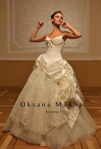 свадебные платья оксаны мухи фото