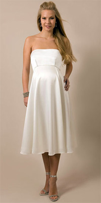 свадебные платья 2011 для беременных фото