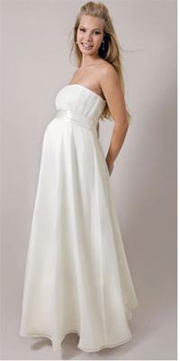 свадебные платья для беременных 2011 фото