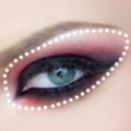 макияж вампирши фото