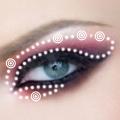 макияж глаз макияж вампирши