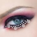 макияж глаз вампирши фото