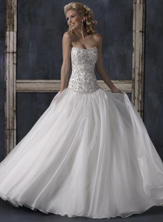 платье для свадьбы 2011