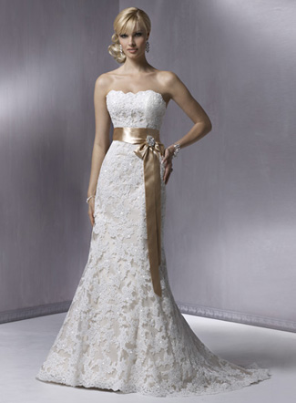 платье для невесты 2011