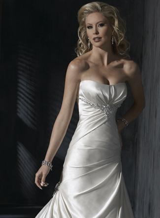 свадебные платья модели 2011