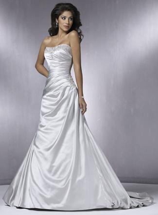красивое свадебное платье 2011