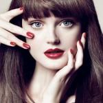макияж для брюнеток красный фото